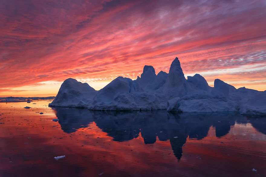 Spires Of The Arctic Night