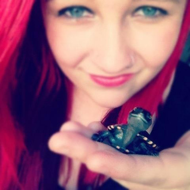 "8. ""My turtle Kellins – he's such a poser."""