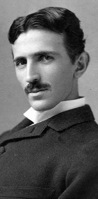 10. Nikola Tesla was inspired to investigate electricity after his cat, Macak, gave him a static shock.