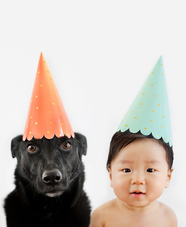 They like celebrating their little lives together.